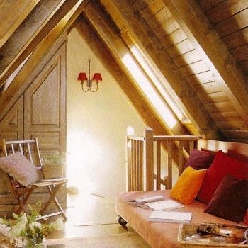 Rym desing of interiors buhardillas - Lamparas para buhardillas ...