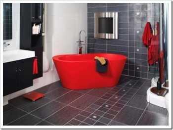 Baño del Cuarto de Demi Bano-rojo1