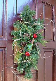 Debate adornos navide os para puertas - Adornos navidenos puertas ...