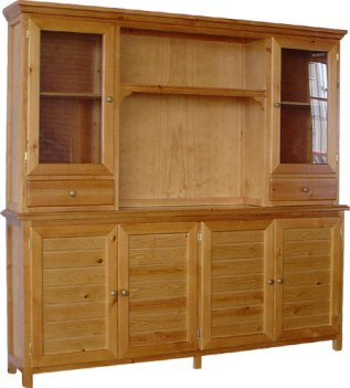 Foto de alacenas para tu cocina decorando interiores - Alacenas de madera para cocina ...