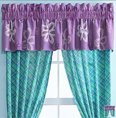 morada Como eligir cortinas para su comedor