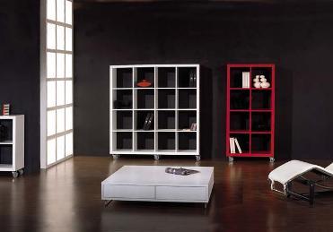 Estantes elegantes para tu hogar decorando interiores - Estanterias separadoras de ambientes ...