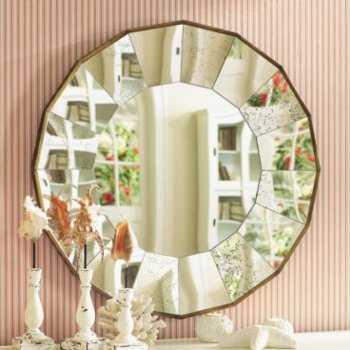 Pon linda tu casa decoracion con espejos for Adornos decorativos para sala