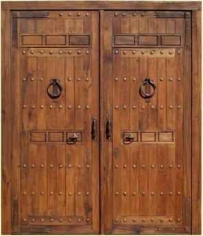 Puertas decorando interiores for Puertas grandes antiguas