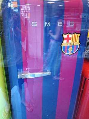 Barcelona smeg fridge