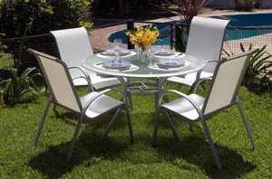 Muebles de jardin impermeables