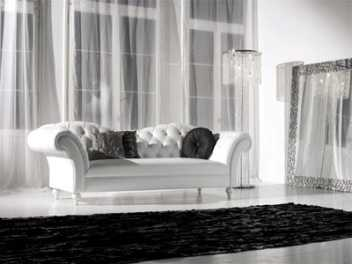 Alto estilo decorando interiores - Cortinas gris plata ...