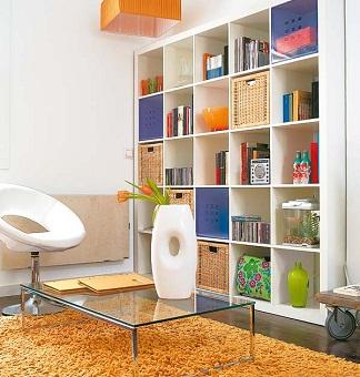 Pon linda tu casa el orden for Librerias en salones
