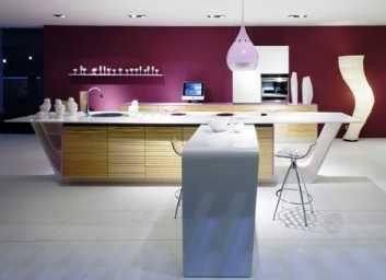 El color fucsia en la cocina decorando revista de decoraci n del hogar y oficina - Cocinas rosa fucsia ...