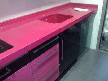 Cocina decorando interiores page 5 - Cocinas rosa fucsia ...