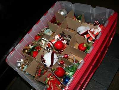 caja de adornos