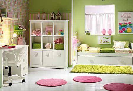 Muebles para la habitaci n de las ni as decora tu mundo - Muebles para cuarto de nina ...