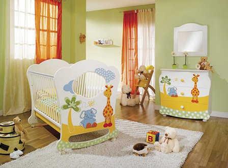 Muebles para decorar el cuarto del beb decora tu mundo - Muebles para habitacion de bebe ...