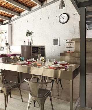Cocina decorando interiores page 3 for Cocinas con glamour
