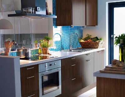 Novedades en muebles de cocina de ikea Cocina turquesa