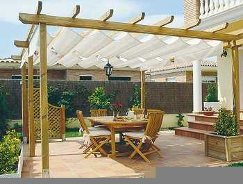 Cenadores y p rgolas para tu jardin o terraza costa del - Cenadores de madera para jardin ...
